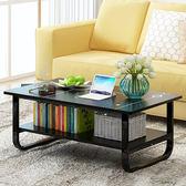 茶幾簡約現代陽台小桌子小戶型客廳簡易小茶機桌長方形創意矮桌