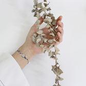 簡約韓版文藝水晶森繫閨蜜學生創意個性純銀手鍊女款