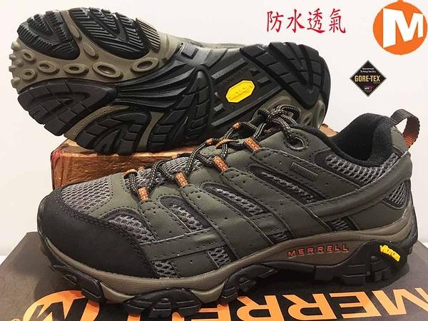 MERRELL Gore-Tex 黃金大底 登山鞋/ 郊山鞋 ML06039W (3E寬楦)(男) 買就送排汗透氣襪