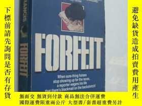 二手書博民逛書店Forfeit罕見by Dick Francis 罰金Y1468