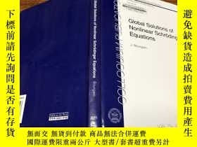 二手書博民逛書店Global罕見Solutions of Nonlinear Schrodinger EquationsY17
