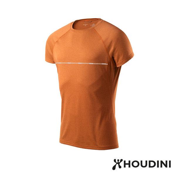 瑞典 Houdini Fast Track Tee 舒適快乾休閒T恤 男款 馬鞍棕 #255504