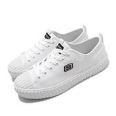 Skechers 休閒鞋 V Lites 白 黑 女鞋 帆布鞋 簡約 時尚 小白鞋 運動鞋 【ACS】 66666262WHT