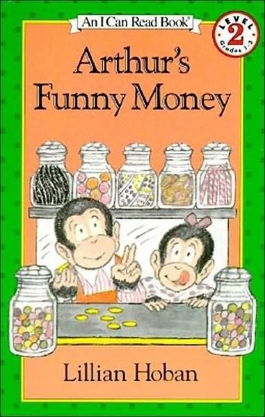 (二手書)An I Can Read Book Level 2: Arthur's Funny Money