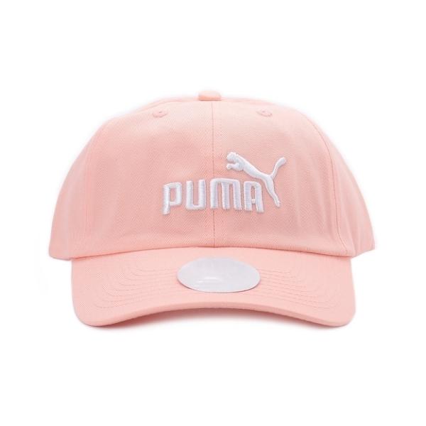 PUMA ESS 刺繡棒球帽 杏桃粉 022416-34
