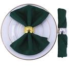 西餐廳餐巾布折花餐桌方巾墊布