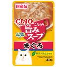 【寵物王國】日本INABA CIAO柴魚鮮味餐包 40g