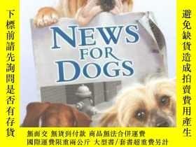 二手書博民逛書店News罕見For Dogs (Hotel for Dogs)-狗狗新聞(狗狗旅館)Y346464 Dunca