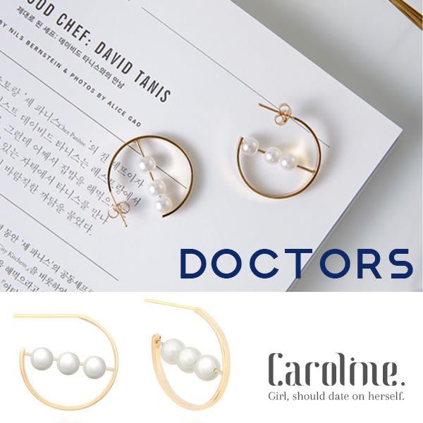 《Caroline》★【doctors】韓國熱門戲劇doctors.樸信惠劇中同款流行珍珠耳環68846