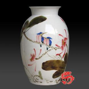 景德鎮陶瓷器青花釉花瓶