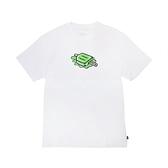Nike 短袖T恤 SB Skate T-Shirt 白 綠 男款 滑板 塗鴉 運動休閒 【ACS】 DD1317-100