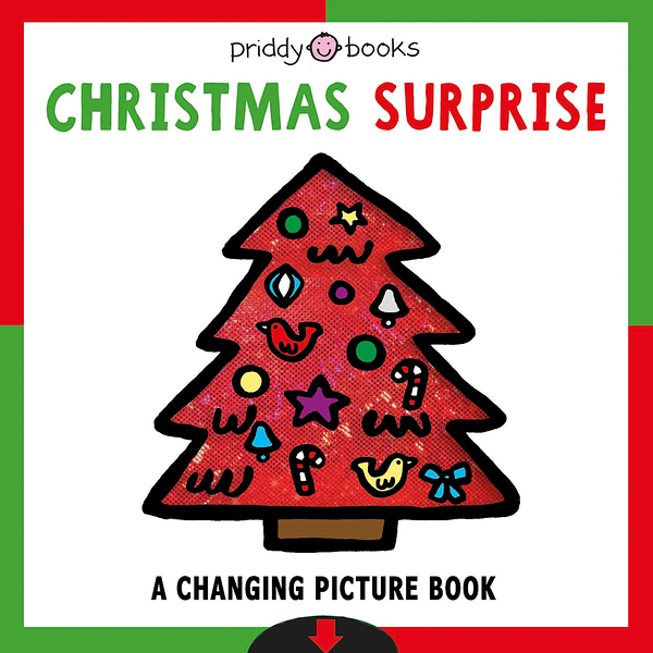 Christmas Surprise A Changing Picture Book 聖誕節變色書(美國版)