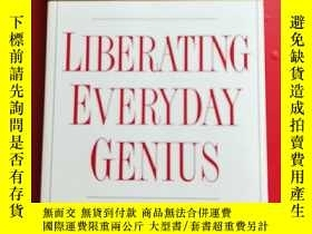 二手書博民逛書店LIBERATING罕見EVERYDAY GENIUS 解放日常