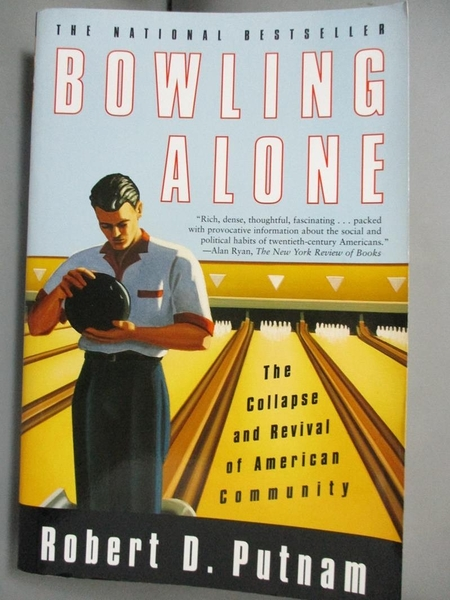 【書寶二手書T6/原文小說_MFE】Bowling Alone: The Collapse and Revival of