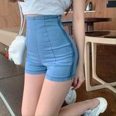 牛仔褲短褲女2020夏季新款熱褲顯瘦夏高腰緊身性感彈力褲超短褲子