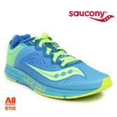 【Saucony】女款慢跑鞋 TYPE A8 輕量競速 -水藍 (190442)全方位跑步概念館