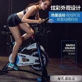 動感單車家用藍堡運動健身自行車多功能室內腳踏車健身房器材-超凡旗艦店