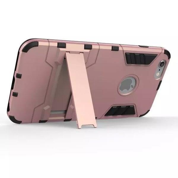 【SZ】盔甲 支架 防摔 手機殼 iphone 6 手機殼 s6手機殼 iphone 6 plus手機殼 玫瑰金