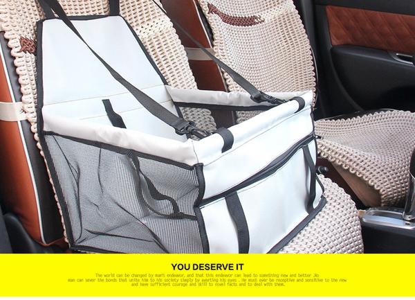 TwinS《毛小孩汽車安全座椅》寵物透氣汽座 狗狗車用坐椅 防髒墊