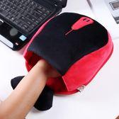 USB暖手寶保暖滑鼠墊暖手套加熱滑鼠墊【onecity】
