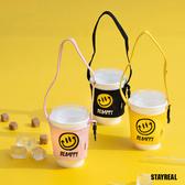 STAYREAL BE HAPPY 陽光笑臉飲料袋