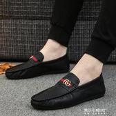 豆豆鞋-豆豆鞋男春款韓版平底網紅潮鞋男士夏季潮流快手紅人懶鞋 東川崎町