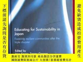 二手書博民逛書店Educating罕見for Sustainability in