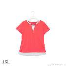【INI】簡約休閒、質感舒服領口造型上衣...