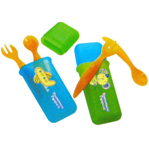 【奇買親子購物網】Tommee Tippee 旅行叉匙組