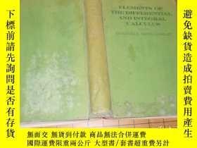 二手書博民逛書店英文原版理工書1929年版:elements罕見of the d