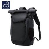 後背包 防水面料潮流商務款 USB翻蓋款筆電平版後背包 男包 89.HERRA-HB89304