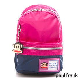 Backbager 背包族【Paul Frank大嘴猴】太空衣系列小童後背包/兒童後背包/後背包 桃紅色