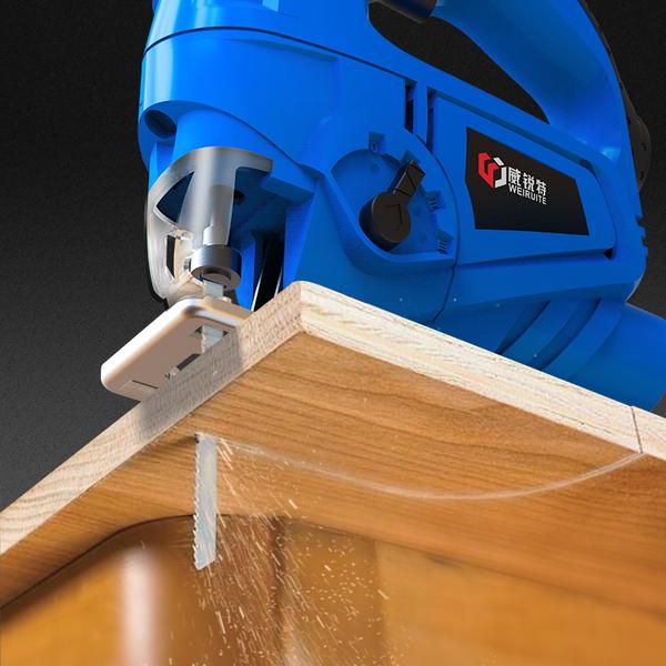 電動曲線鋸家用電鋸多功能手持木板線鋸小型切割機木工工具 亞斯藍