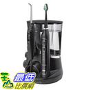 [106美國直購] Waterpik 沖牙機電動牙刷套組 Care 5.0 Water Flosser WP-862, Black(含5個沖牙頭,2個牙刷頭)