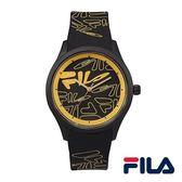 【FILA 斐樂】/LOGO造型手錶(男錶 手錶 Watch)/38-129-201/台灣總代理原廠公司貨兩年保固