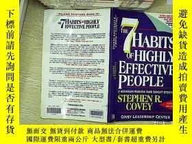 二手書博民逛書店The7罕見habits of highly effective