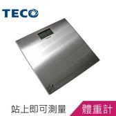 【可超商取貨】TECO東元藍光數位體重計 (XYFWT482)