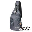 【PolarStar】休閒單肩側背包『灰』P20809 露營.戶外.旅遊.自助旅行.多隔間.腰包.休閒包.側背包