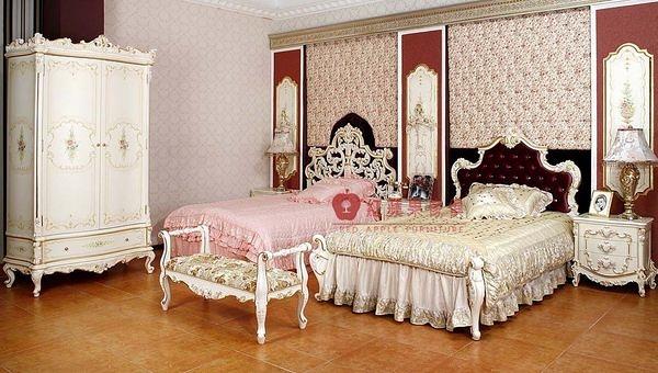 [紅蘋果傢俱] F101A-4 宮廷凡爾賽系列 歐式 單人床 新古典 床台 床架 高檔 法式 奢華