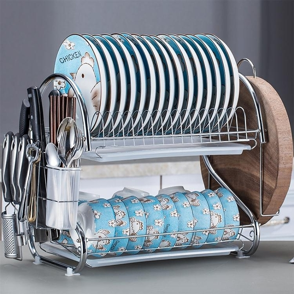 瀝水架 廚房置物架碗架碗碟架晾放碗架洗碗池瀝水架餐具架盤子碗筷收納盒