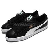 Puma 休閒鞋 Basket Classic LFS 黑 白 金標 基本款 皮革 男鞋 女鞋【ACS】 35436721