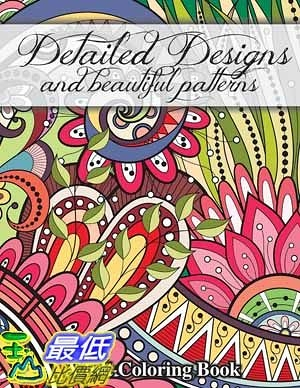 [104美國直購] 2015 美國暢銷書排行榜 Detailed Designs and Beautiful Patterns