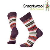 【SmartWool 美國 女款 瑪格麗特紋中長襪《霧紫》】SW0SW717/排汗襪/保暖襪/抗臭襪★滿額送