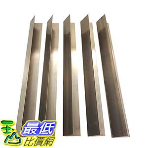 [106美國直購] 5 Long Lasting Stainless Steel Flavorizer Bars, Fits Weber Grills, Part # 7537