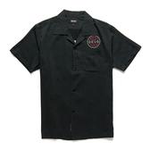 Deus Ex Machina Castillo Address Shirt 短袖襯衫-(黑)