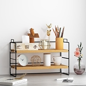 桌面置物架多層書桌整理桌上收納小架子【櫻田川島】