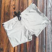 男士泳褲平角游泳褲 高彈防走光抽繩泳褲 男溫泉泳衣夏季新款 創想數位