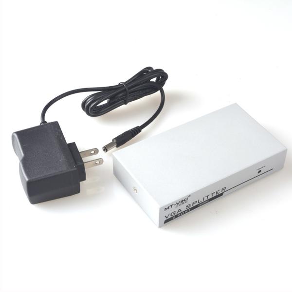 邁拓維矩MT-1502-K VGA分配器1分2VGA一分二視頻分配器VGA分屏器