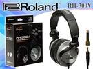 【小麥老師樂器館】現貨!! 樂蘭 Roland RH-300V 個人監聽耳機 V-Drums系列電子鼓可用 RH300V