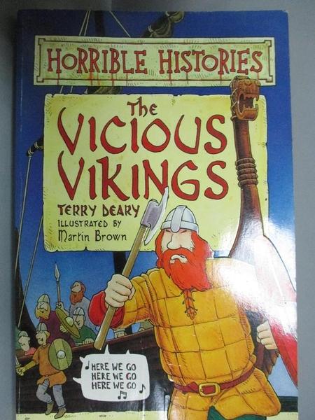 【書寶二手書T4/兒童文學_HNL】The Vicious Vikings_Terry Deary